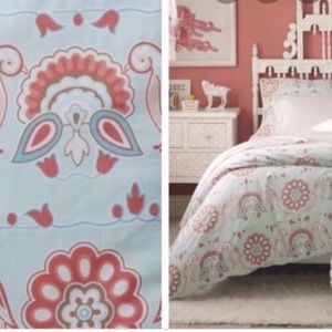 Serena & Lily duvet & 2 large pillow case full